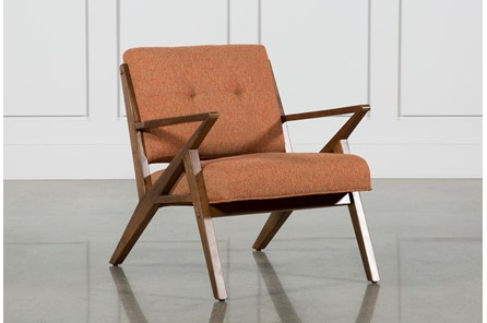 Aldo Orange Accent Chair - Main