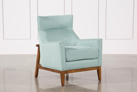 Benson Teal Accent Chair