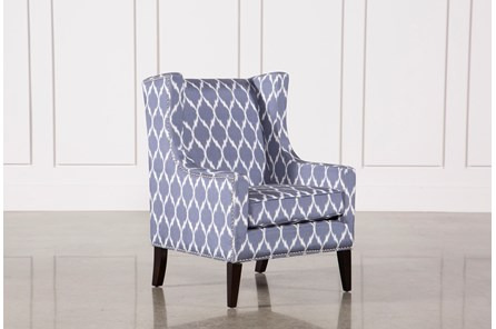 Cabot Blue Accent Chair - Main