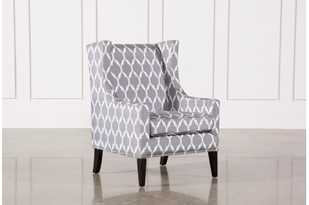 Cabot Grey Accent Chair - Main