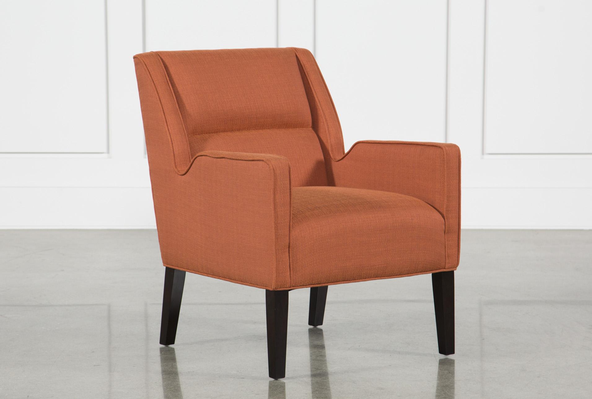 Perfect Orange Accent Chair Interior