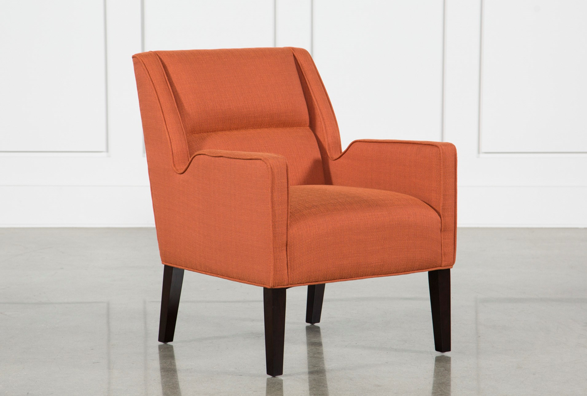 Reid orange accent chair qty 1 has been successfully added to your cart