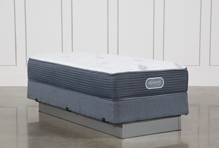 Palm Springs Luxury Firm Twin Xl Mattress W/Foundation