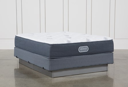 Palm Springs Luxury Firm Queen Mattress W/Foundation
