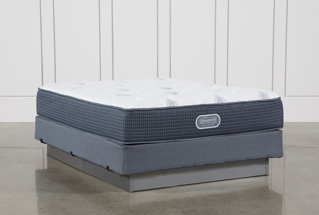 Palm Springs Luxury Firm Queen Mattress W/Foundation - 360