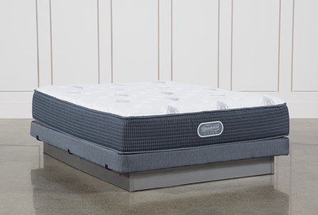 Palm Springs Luxury Firm Queen Mattress W/Low Profile Foundation