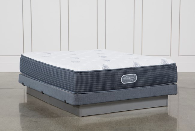 Palm Springs Luxury Firm Queen Mattress W/Low Profile Foundation - 360