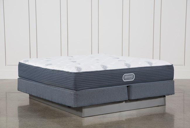 Palm Springs Luxury Firm Eastern King Mattress W/Foundation - 360