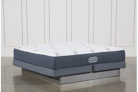 Palm Springs Luxury Firm Eastern King Mattress W/Low Profile Foundation - Main