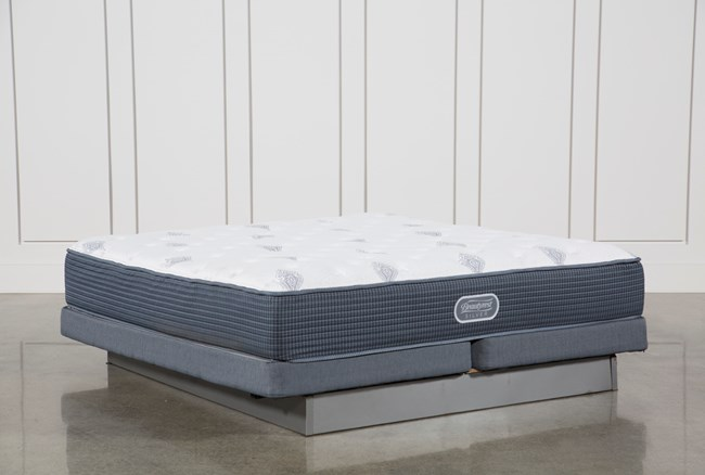 Palm Springs Luxury Firm Cal King Mattress W/Low Profile Foundation - 360