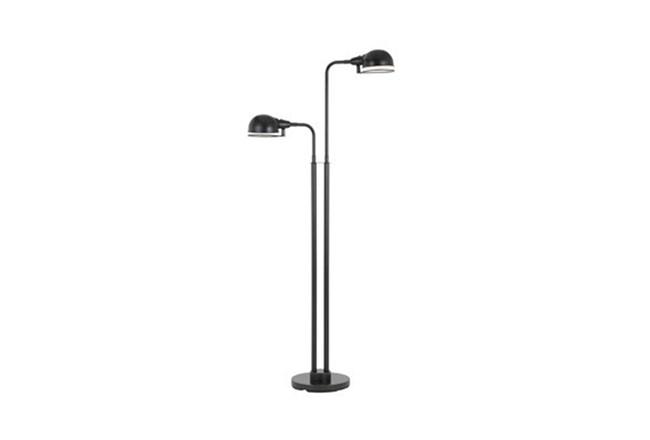 Floor Lamp-Industrial Springs 2-Arm - 360