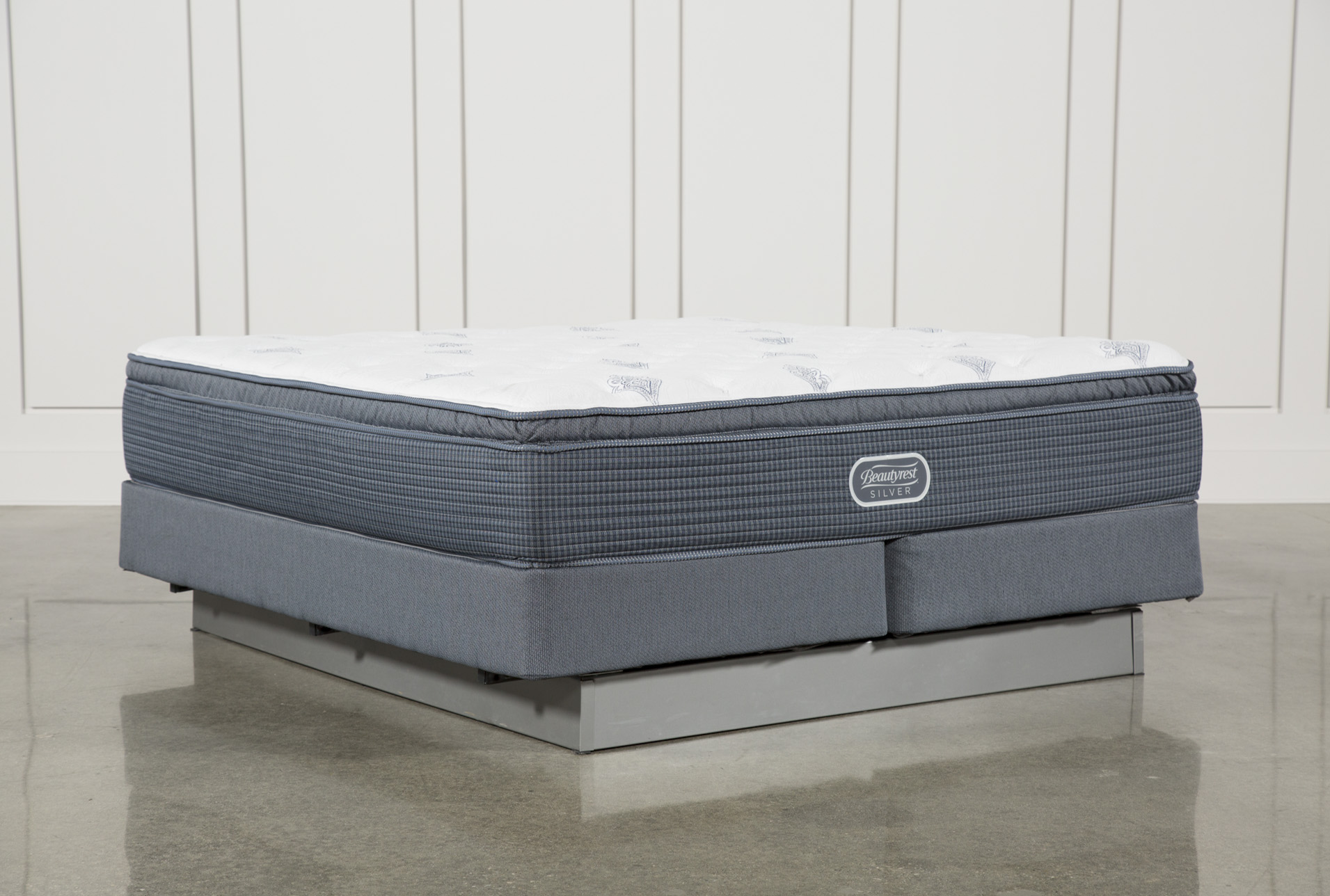 Palm Springs Plush Pillow Top Eastern King Mattress W/Foundation (Qty: 1)  Has Been Successfully Added To Your Cart.