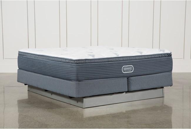 Palm springs plush pillow top cal king mattress w for Plush pad palm springs