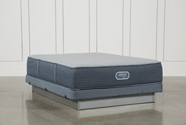 Victory Firm Queen Mattress W/Low Profile Foundation