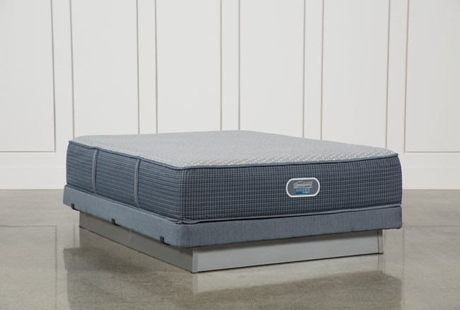 Victory Firm Queen Mattress W/Low Profile Foundation - 360