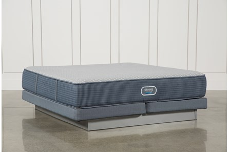 Victory Firm California King Mattress W/Low Profile Foundation - Main
