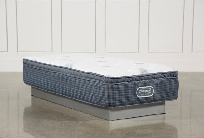 Palm springs plush pillow top twin extra long mattress for Plush pad palm springs