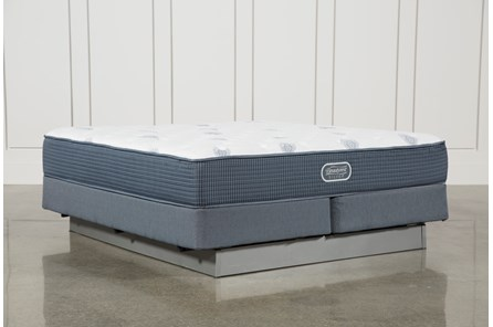 Palm Springs Plush Eastern King Mattress W/Foundation - Main
