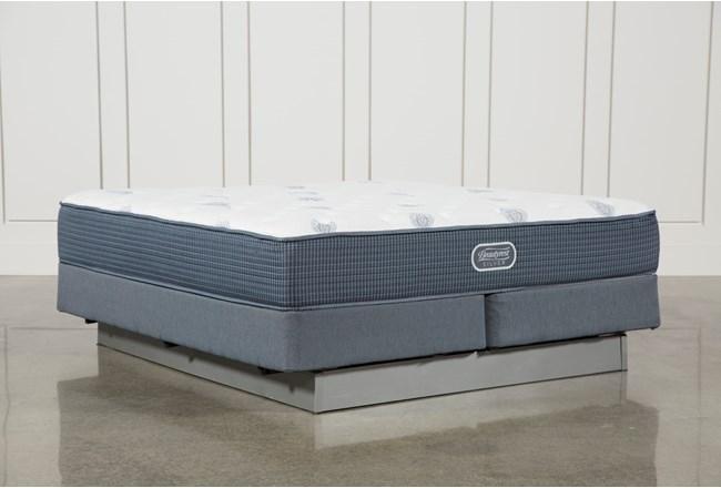 Palm springs plush california king mattress w foundation for Plush pad palm springs