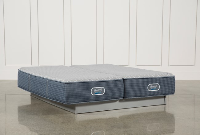 Victory Firm Eastern King Split Mattress Set - 360