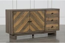 Aged Pine 3-Drawer/2-Door Sideboard