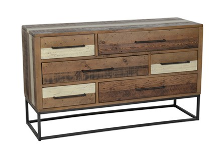 Cappuccino 6-Drawer Dresser