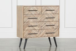 Natural 5-Drawer Dresser