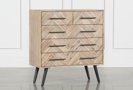 Natural 5-Drawer Dresser