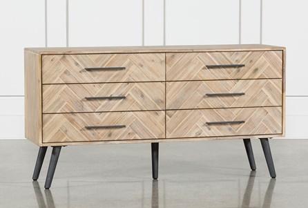 Natural 6-Drawer Dresser