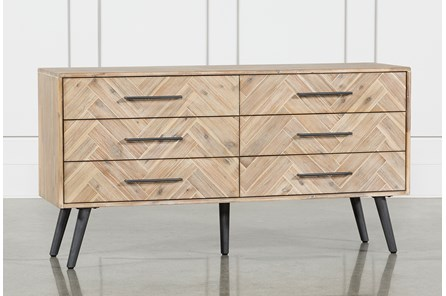 Natural 6-Drawer Dresser - Main