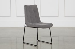 Smoke Grey Side Chair