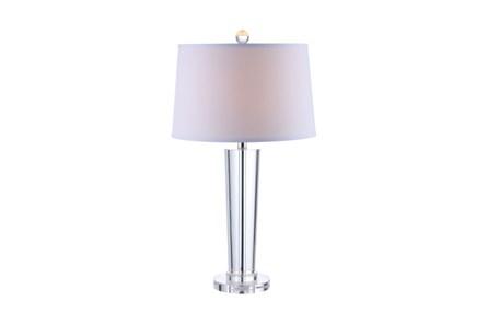 Table Lamp-Crystal Contemporary Column
