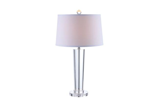 Table Lamp-Crystal Contemporary Column - 360