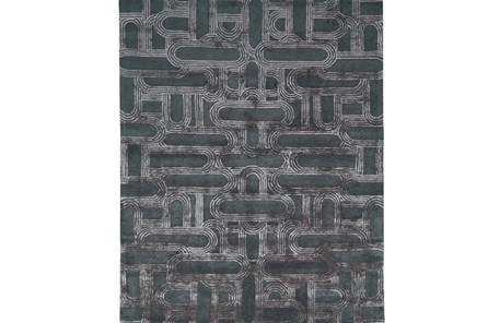 96X132 Rug-Graphite Trail - Main