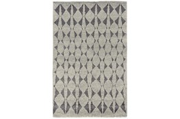 2'x3' Rug-Wool And Bamboo Hand Knotted Mushroom