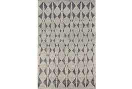 102X138 Rug-Wool And Bamboo Hand Knotted Mushroom