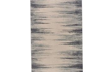 8'x11' Rug-Spilt Lines Ivory/Charcoal