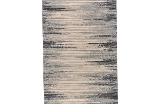 96X132 Rug-Spilt Lines Ivory/Charcoal - 360