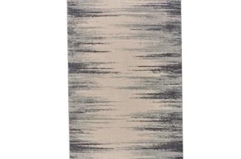 34X94 Rug-Spilt Lines Ivory/Charcoal