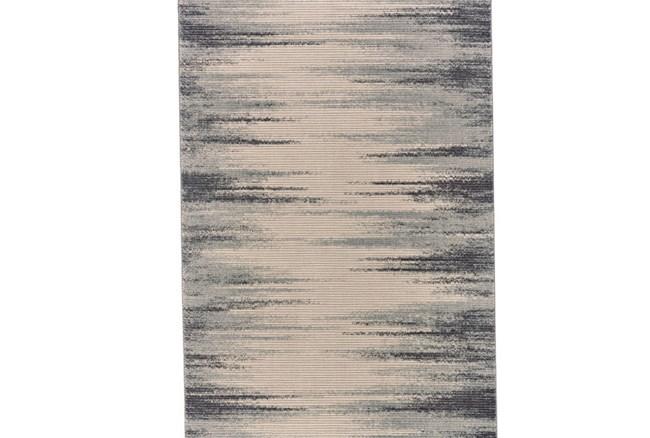 34X94 Rug-Spilt Lines Ivory/Charcoal - 360