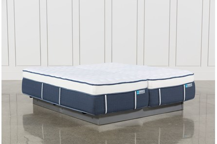 Blue Springs Firm Eastern King Split Mattress Set - Main
