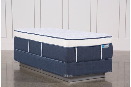 Blue Springs Firm Twin Extra Long Mattress W/Foundation - Main