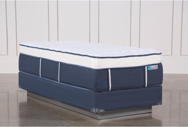 Blue Springs Firm Twin Extra Long Mattress W/Foundation - 360