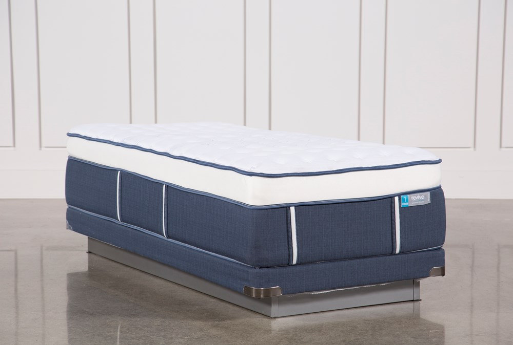 Blue Springs Firm Twin Xl Mattress W/Low Profile Foundation