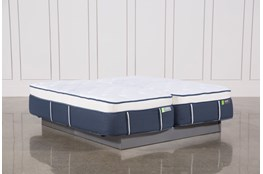 Blue Springs Medium Eastern King Split Mattress Set