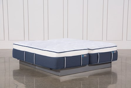 Blue Springs Plush Eastern King Split Mattress Set