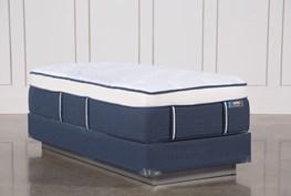 Blue Springs Plush Twin Extra Long Mattress W/Foundation