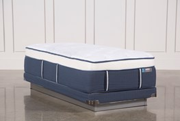 Blue Springs Plush Twin Xl Mattress W/Low Profile Foundation