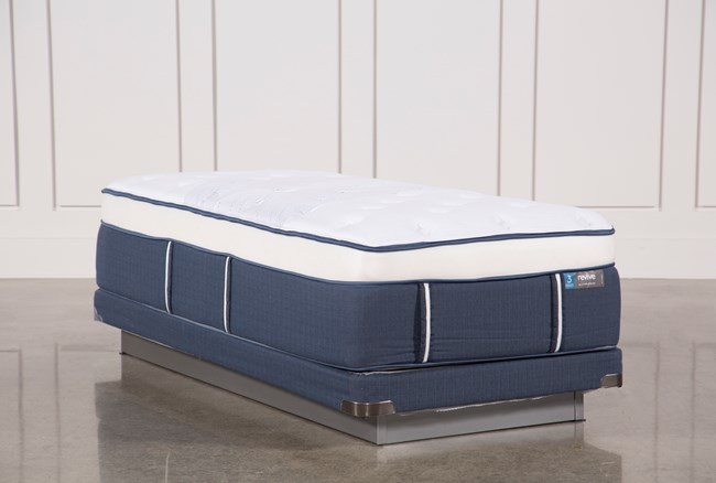 Blue Springs Plush Twin Xl Mattress W/Low Profile Foundation - 360