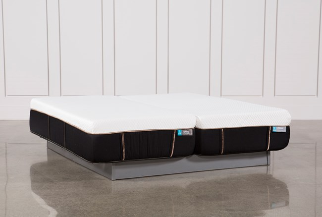 Copper Hybrid Firm Eastern King Split Mattress Set - 360